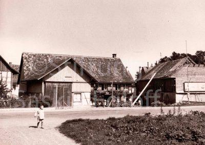 Uhrmacher Egloff's Haus an der Hauptstrasse